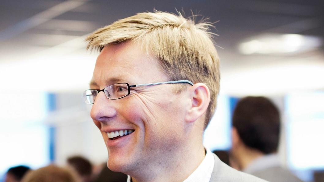 Pål Egil Rønn, konsernsjef i AF Gruppen, er svært fornøyd etter oppkjøpet. Arkivbilde.