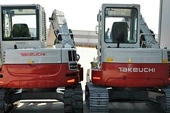 Første 9-tonns Takeuchi