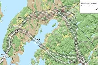 Her vil Vegvesenet ha ny E18 i Telemark