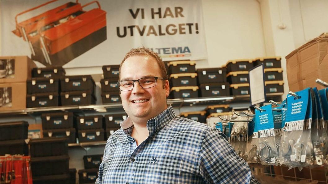 Biltema-sjef Knut Svenningsen kan vise til rekordår.