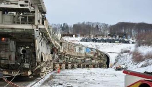 Tunnelboremaskinen Åsa var det som til slutt fikk has på Hallandsåsen.