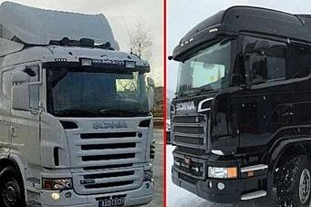 To Scania stjålet på Hamar