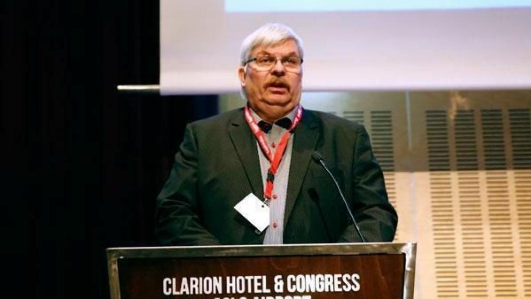 ÅPNET KONFERANSEN: Jan Aasekjær, styreleder i Norsk Utleieforening og adm. direktør i BAS Maskinutleie AS.