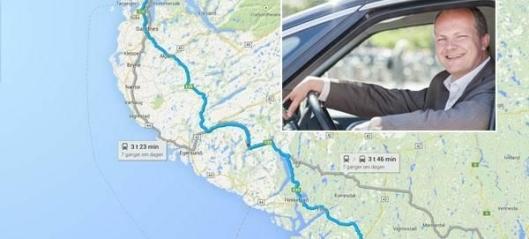 Vil kjøre Kristiansand - Stavanger på under to timer