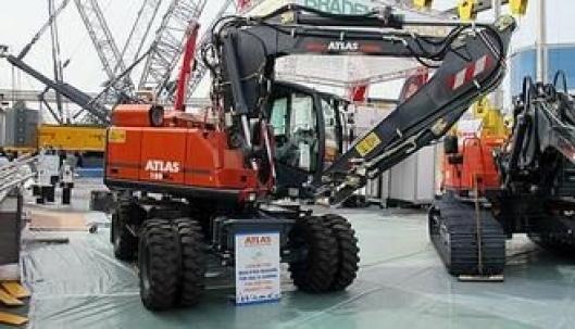 Atlas er kanskje best kjent for sine hjulgående gravemaskiner hvor selskapet har mer enn 40 års erfaring.