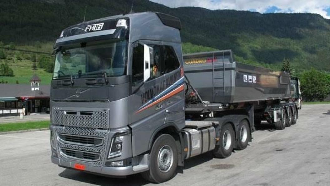 Volvo er den store vinneren på registreringsstatistikken for lastebiler hittil i år.