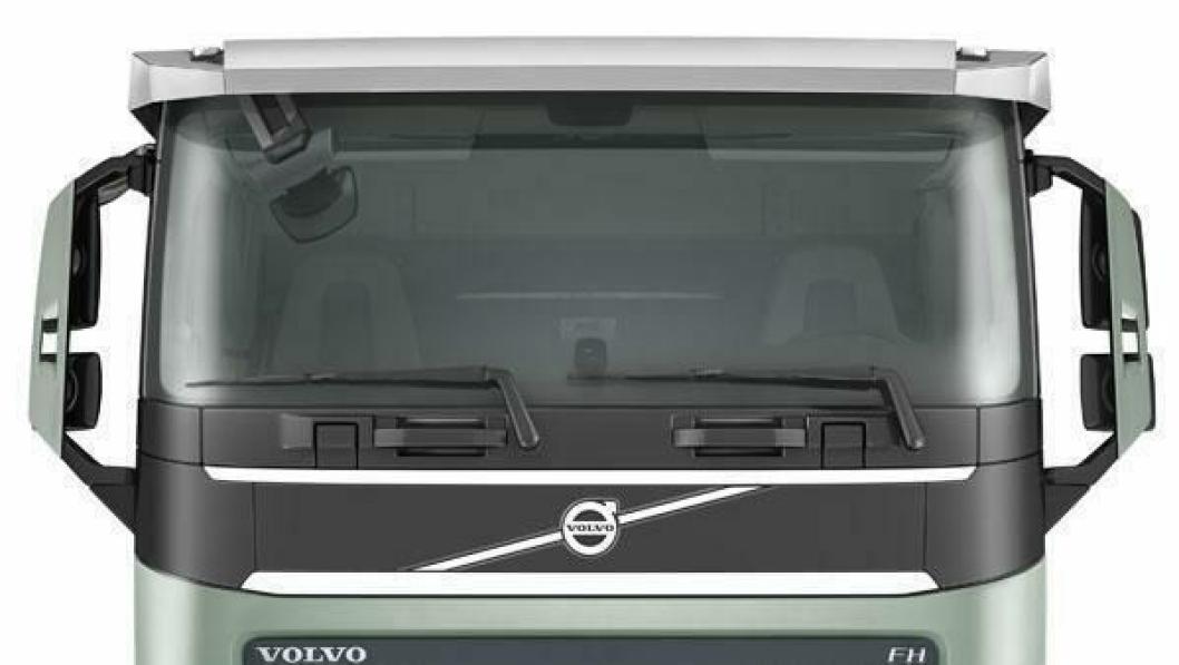 Både Volvo FH og FH16 kan nå leveres med ekstra lavt førerhustak.