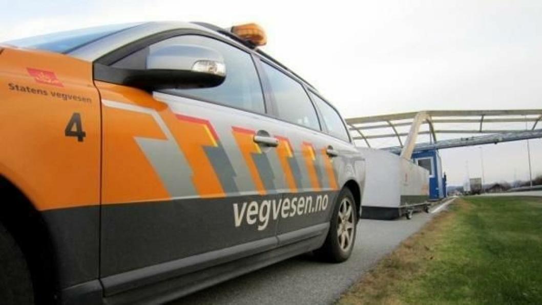 Sokn kontrollstasjon ved E39 i Rogaland.