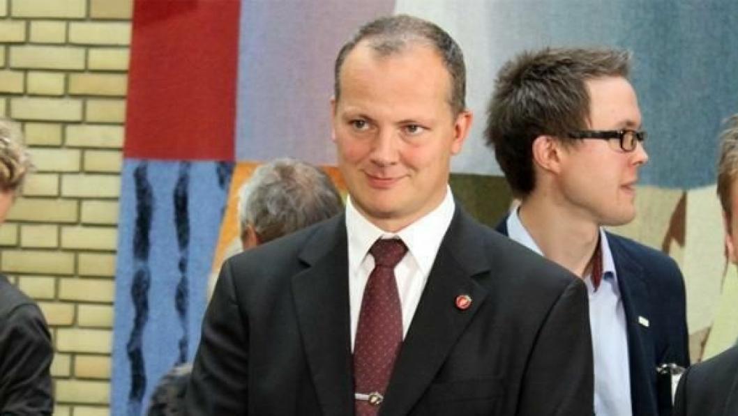 NY I JOBBEN: Ketil Solvik-Olsen er Norges nye samferdselsminister.