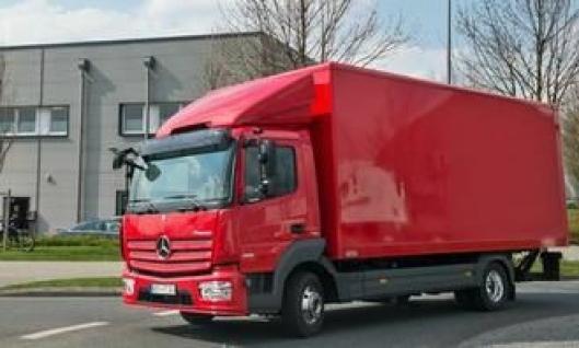 Mercedes-Benz Atego Euro 6. Den mellomtunge lastebilserien er like sterkt fornyet som sine tyngre brødre.