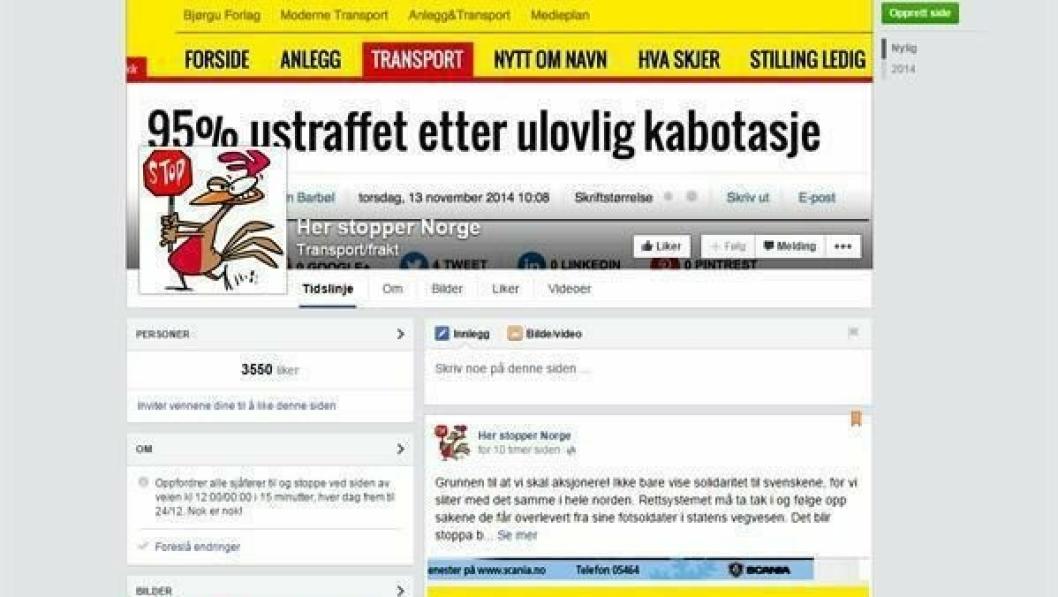 Norsk Facebook-gruppe som vokser raskt.