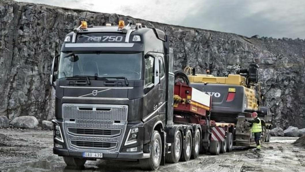 FH16 750 hk i Euro 6-utførelse blir ett av trekkplastrene i Volvo Karavanen 2014.