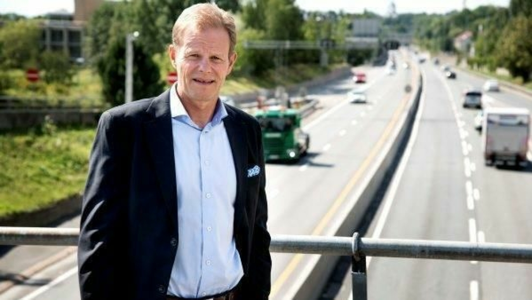 Speditør-sjef, Are Kjensli, oppfordrer til kamp for en kvalitetsbedring av vogntogene.