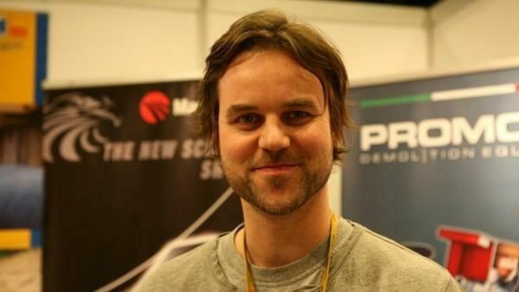 VIL STYRE EGET: Daglig leder Kristian Skjetne i Skjetne Maskin AS sier selskapet vil satse på egne produkter, og ikke ønsker å være underleverandør for andre.
