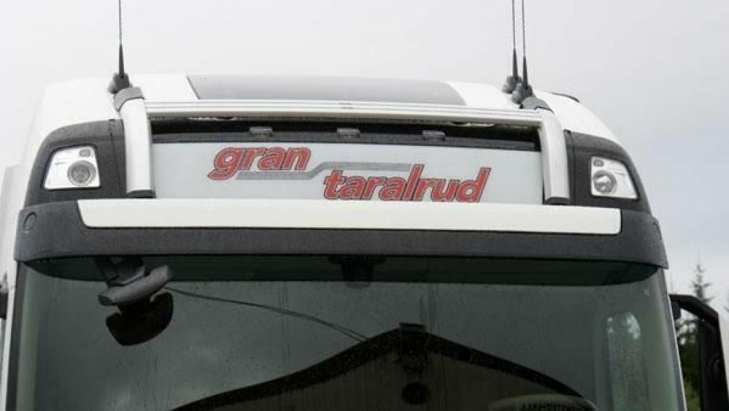 Sjåførene i Gran Taralrud var blant de som var tatt ut til streik men som nå kan fortsette arbeidet som normalt.
