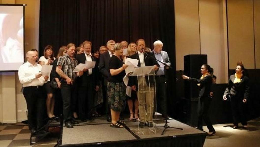 NISSER OG DVERGER: Det norske sanginnslaget var populært på det siste arrangementet før avstemningen om hvem som vinner WTC i 2017.