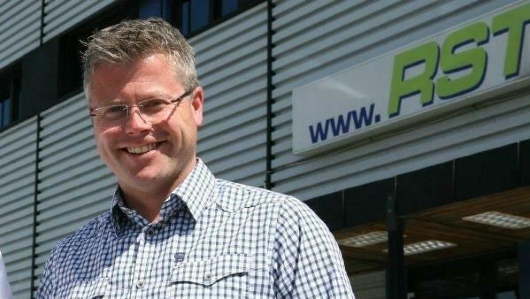 Daglig leder Richard Sæther forteller at selskapet får navnet RST Logistics fra 1. november.