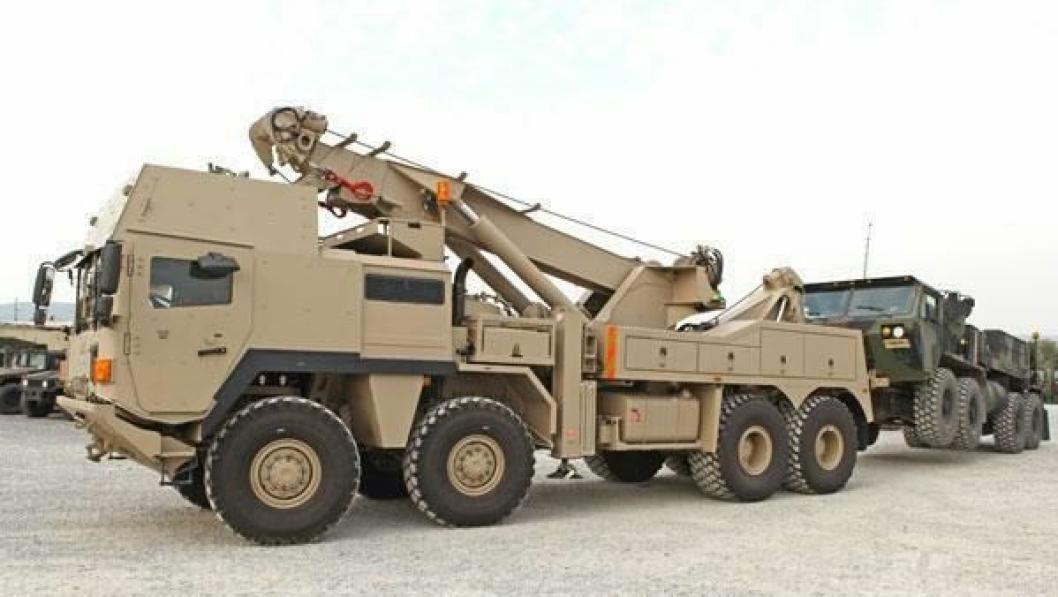 Det danske forsvaret er ikke med på den avtalen forsvarene i Sverige og Norge har inngått med Rheinmetall MAN Military Vehicles, men var først i Europa til å ta i bruk de nye HTRV militære bergingsbilene fra selskapet tidligere i år.