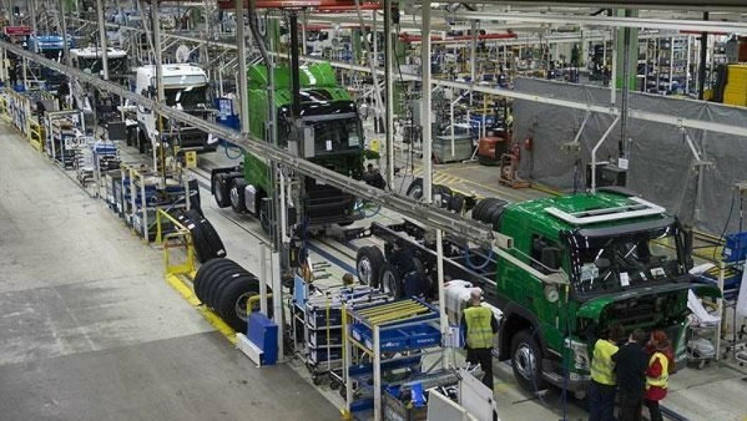 For FM-serien produsert på Tuve-fabrikken kan Volvo nå utstyre påbyggerne med 3d-tegninger som viser nøyaktig hvordan det enkelte chassiset er.