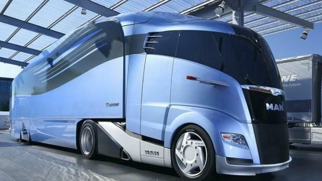 MANs og Krones Concept S er et eksempel på hvordan man kan gi nyttekjøretøy en vesentlig bedre aerodynamikk, og dermed betydelig lavere drivstofforbruk. Foreløpig har imidlertid politikerne vist liten vilje til å tillate slike løsninger.
