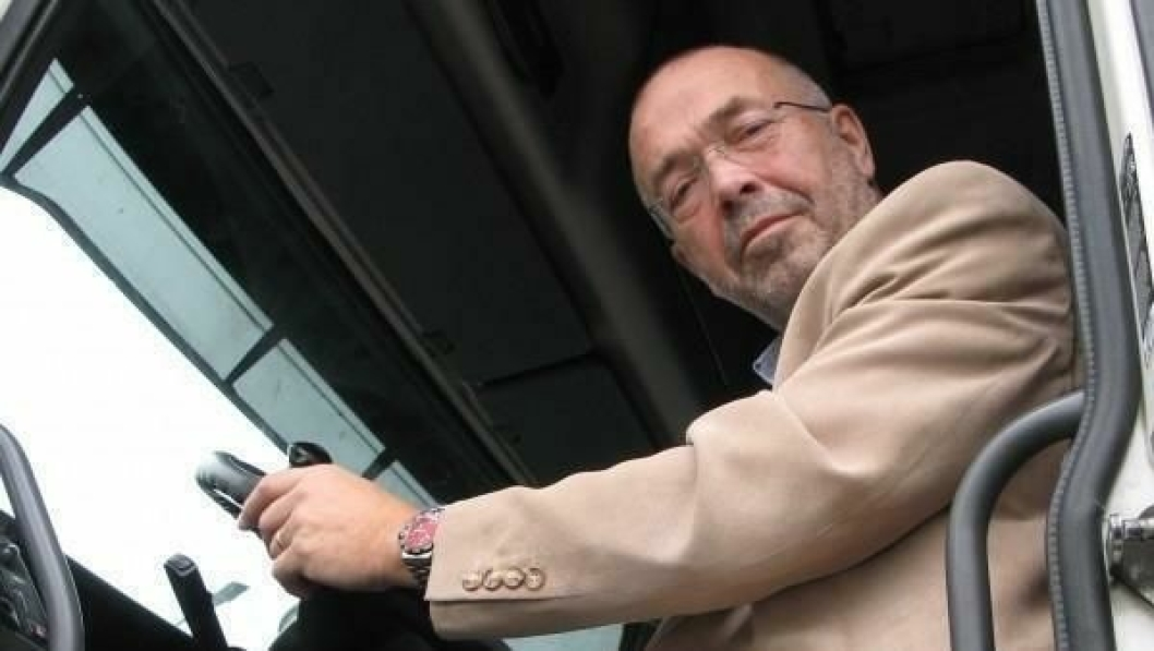 Per Madsen er både daglig leder og styreleder i den nye «Transportsentralen», Bulkpartner AS.