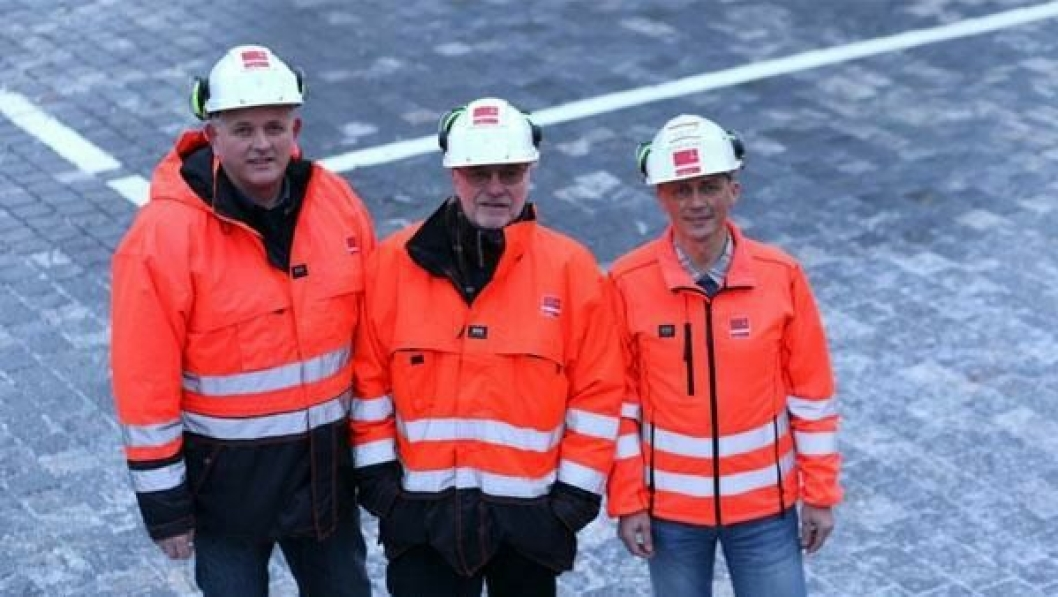 Fra venstre: Ingmar Austevoll, Carl Inge Veland og Erlend Bygnes.