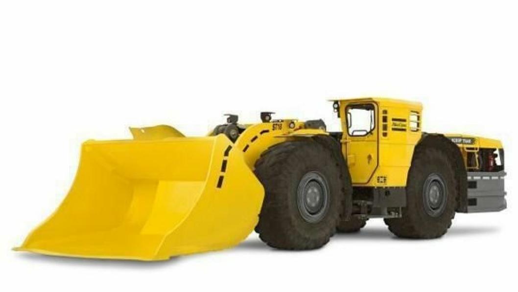 Den nye 18-tonns kapasitet Scooptram ST18 kompletterer Atlas Copco spekter av underjordiske lastere i dette segmentet.