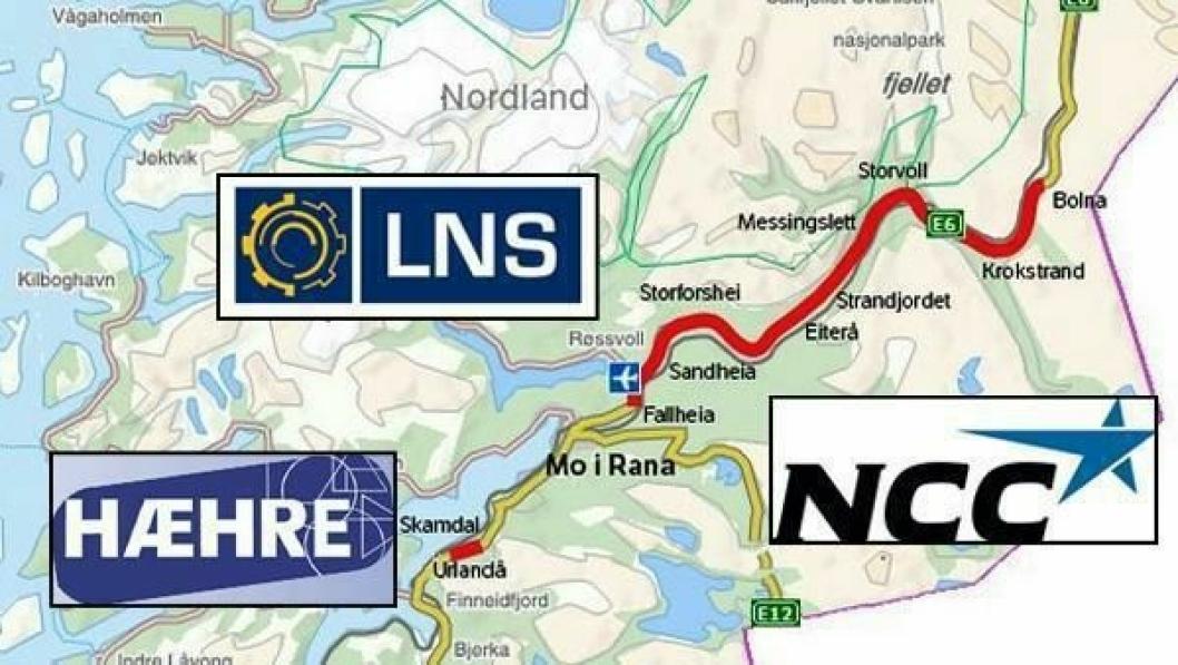 En av de tre entreprenørene signerer kontrakt med Statens vegvesen før sommeren 2015 på bygging og drifting av E6 Helgeland nord.