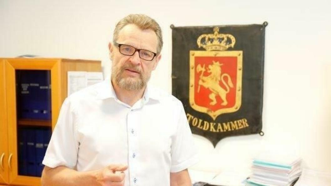 Toll- og avgiftsdirektør Bjørn Røse har stor tro på styrket innsats med etableringen av nye Junkerdalen Tollstasjon.