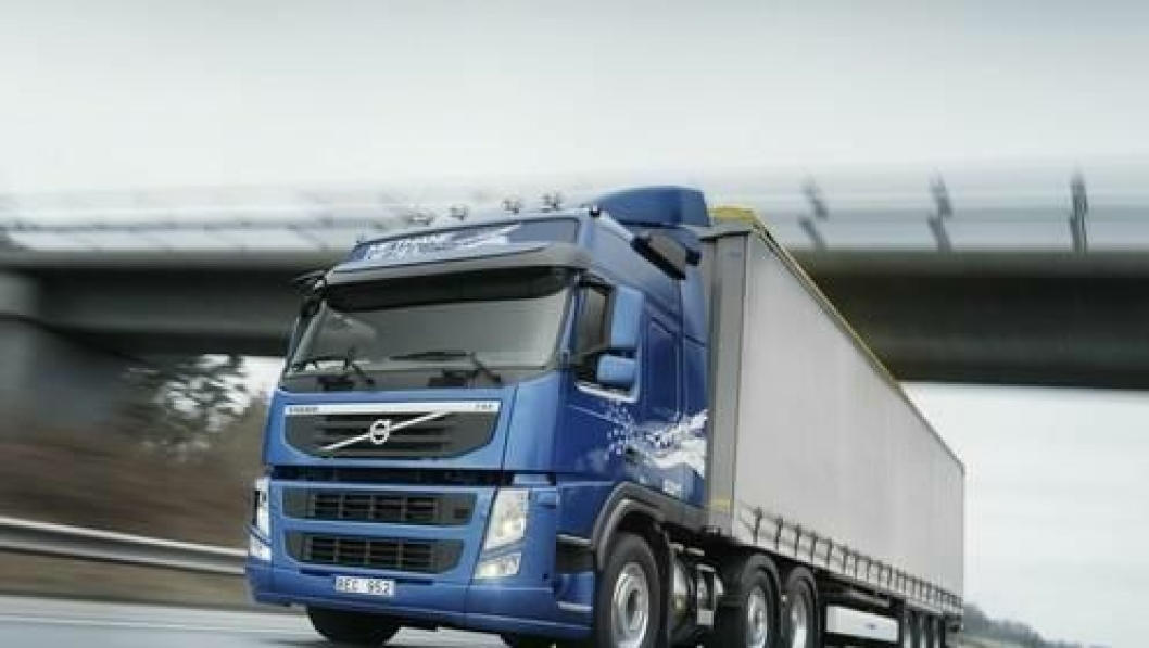 Volvo FM Methane Diesel kjøre akkurat som en hvilken some helst FM. Største forskjellen for sjåføren er drivstoffpåfyllingen.