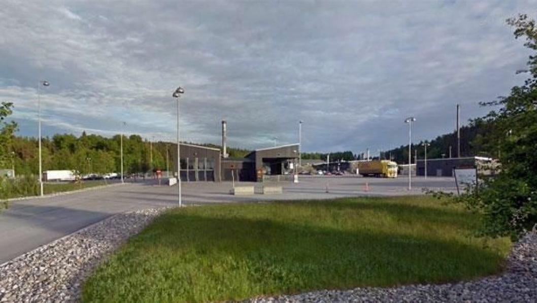 Kontrollstasjonen på Svinesund har for liten plass.