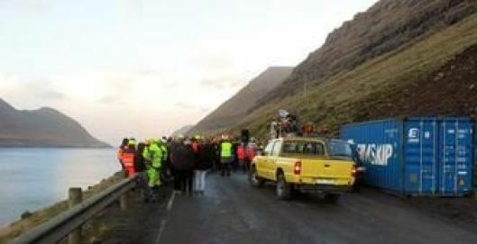 FLOTT NATUR: På Færøyene er det stort sett snøfritt om vinteren, noe som skal bli deilig for flere LNS-ansatte.