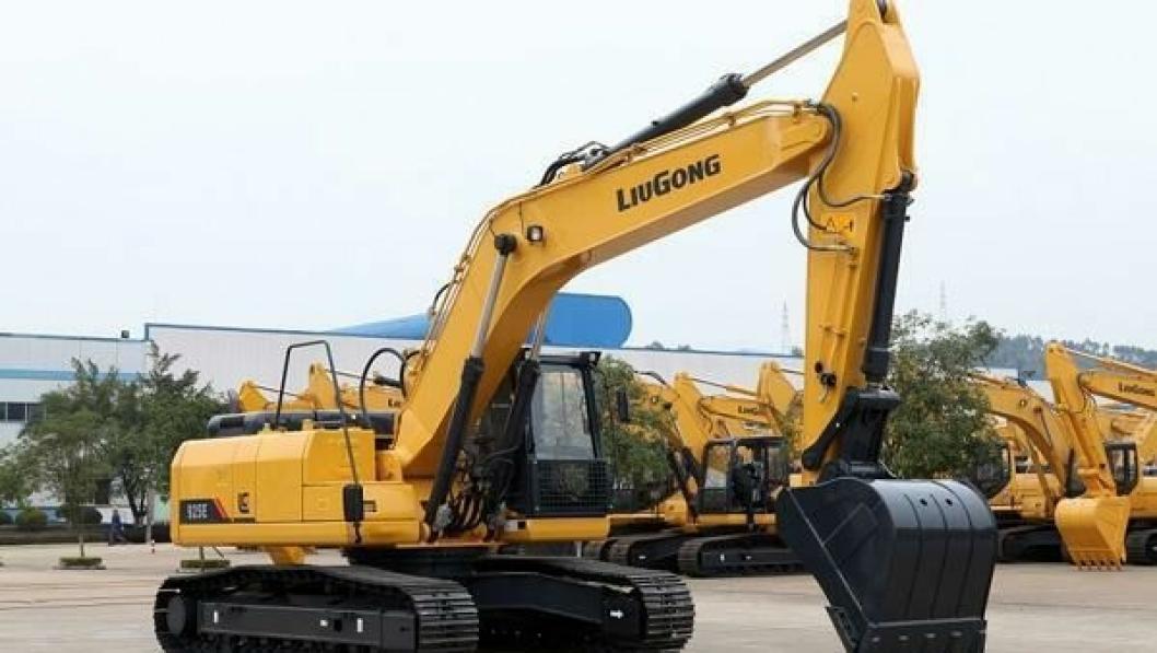 Liugong 925E er laget til det europeiske markedet og skal tilfredsstille EU-kravene til moderne gravemaskiner.
