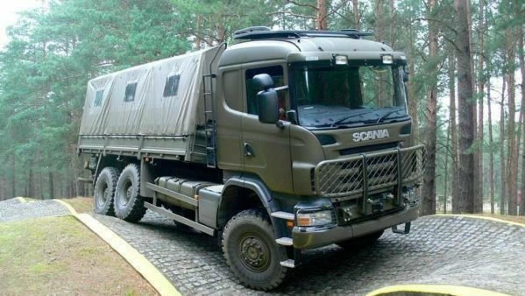 Finland kjøper Scania-lastebiler til sitt forsvar.