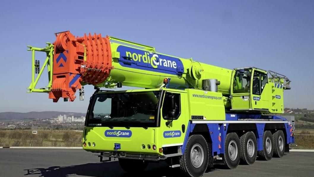 Nordic Crane har blant annet bestilt en slik Liebherr LTM 1130.