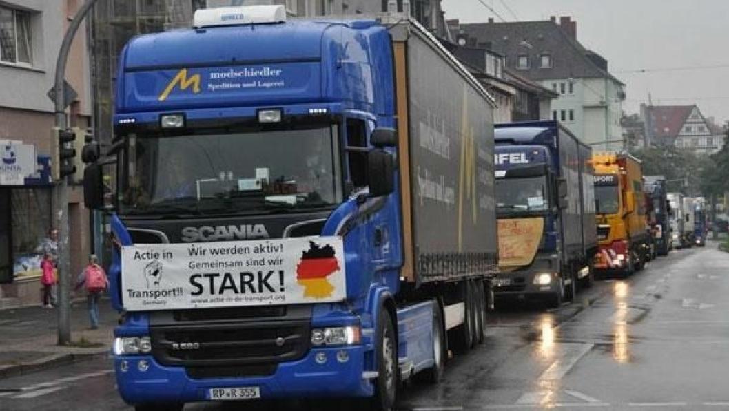 Glimt fra prosesjonen i Dortmund.
