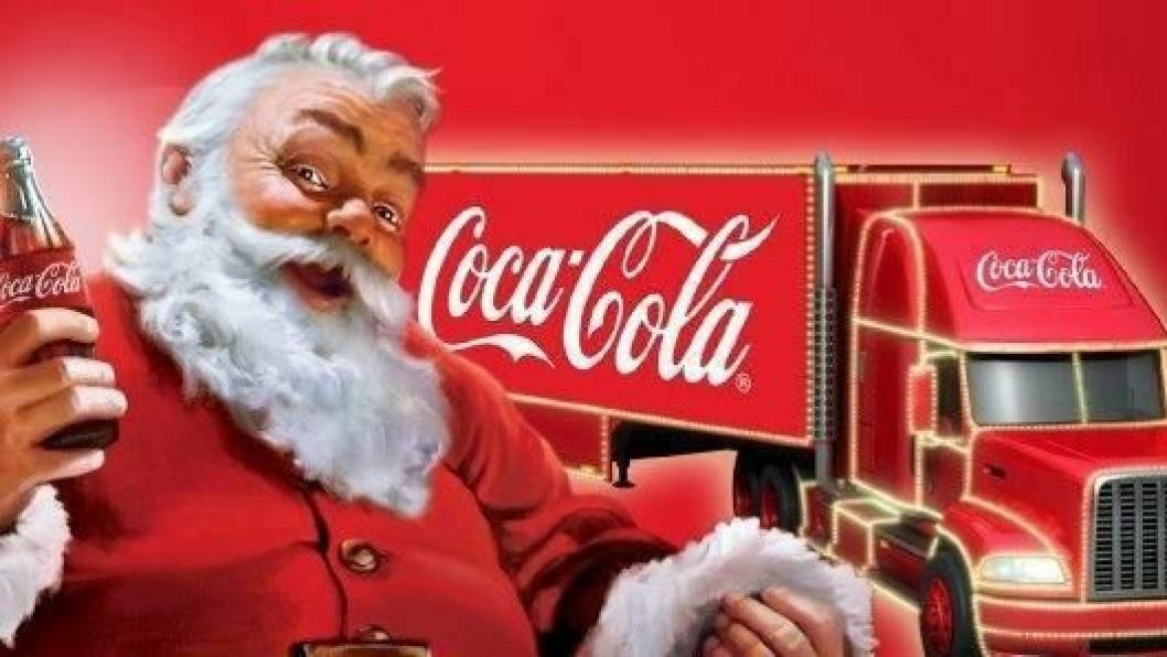 Tradisjonen med Coca-Colas juletrailer holdes i hevd.