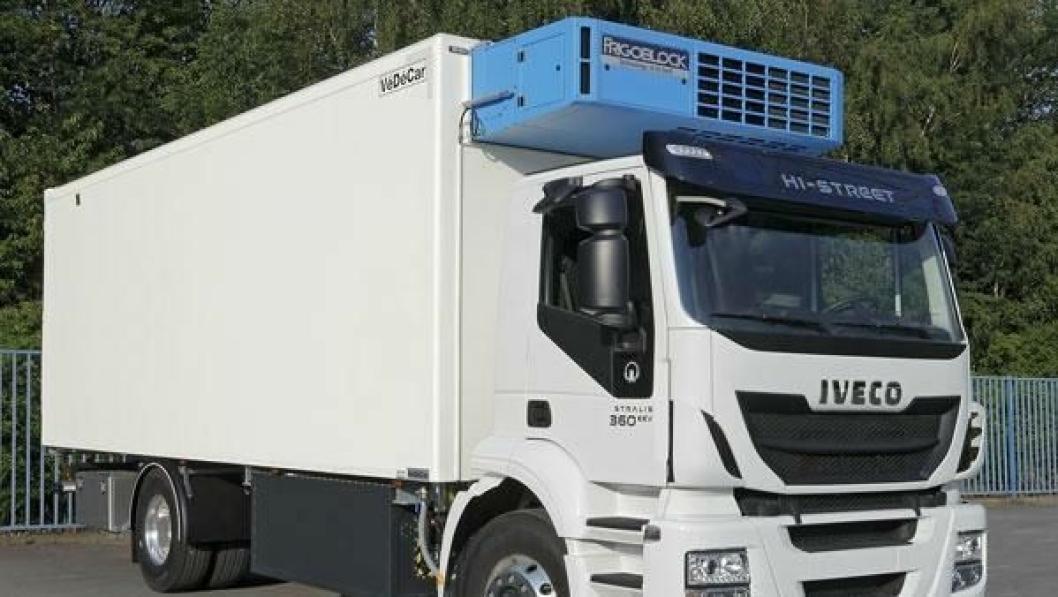 Frigoblock har markert seg som produsent av kvalitetskjølesystemer for transportnæringen. Her kjølemaskinen FK 25i montert på Iveco Stralis 360 EEV.