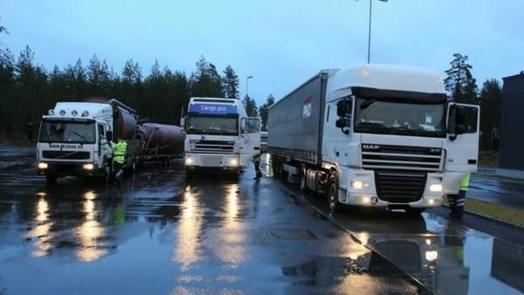 Linda Hofstad Helleland vil ha fortgang i grensekontrollen av utenlandske vogntog.