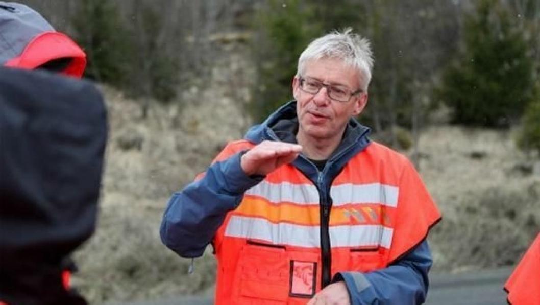 Bård Nyland er prosjektleder for vegutviklingspakken E6 Helgeland.