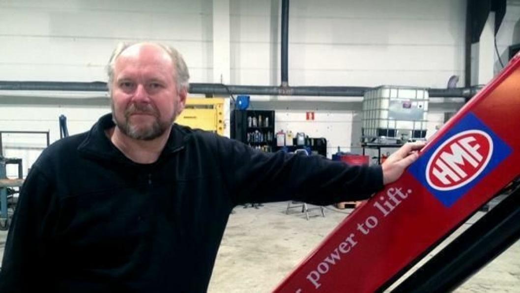 Gunnar Ødegaard er nå teknisk sjef i HMF Norge.