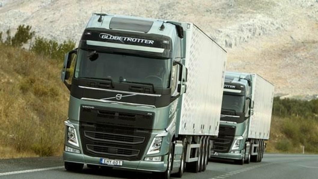 Volvos vekst i den tyngste klassen driver mesteparten av veksten i lastebilmarkedet.