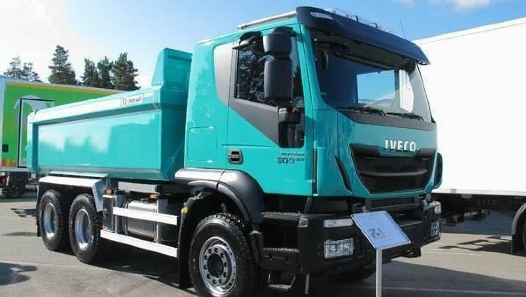 Iveco nyttekjøretøy, her representert ved anleggsbilen Trakker, har selskap med en lang rekke andre produktgrupper i det nye konsernet CNH Industrial.