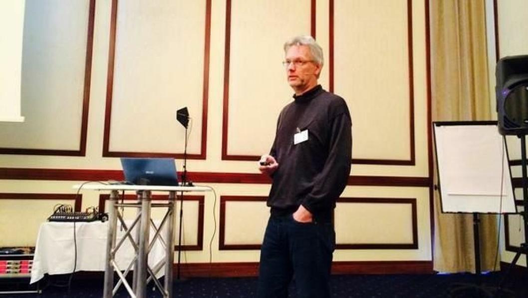 Amund Bruland (NTNU), leder av Skytebaskomiteen i NFF.