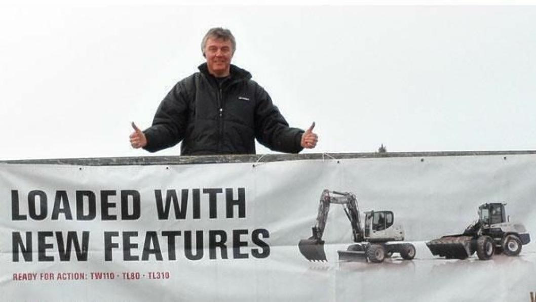 Arne Bjarte Tveit er ny daglig leder i Motorsalg.
