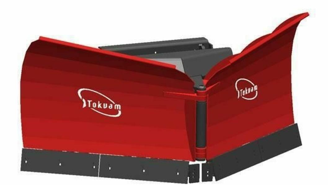 Vikeploger er en av plogtypene Tokvam AS vil levere for snøbrøyting fra og med kommende vintersesong.