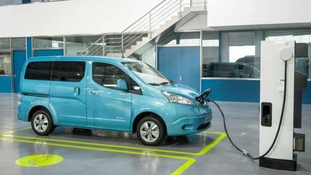 Leaf har fått en storebror; den elektriske varebilen e-NV200.