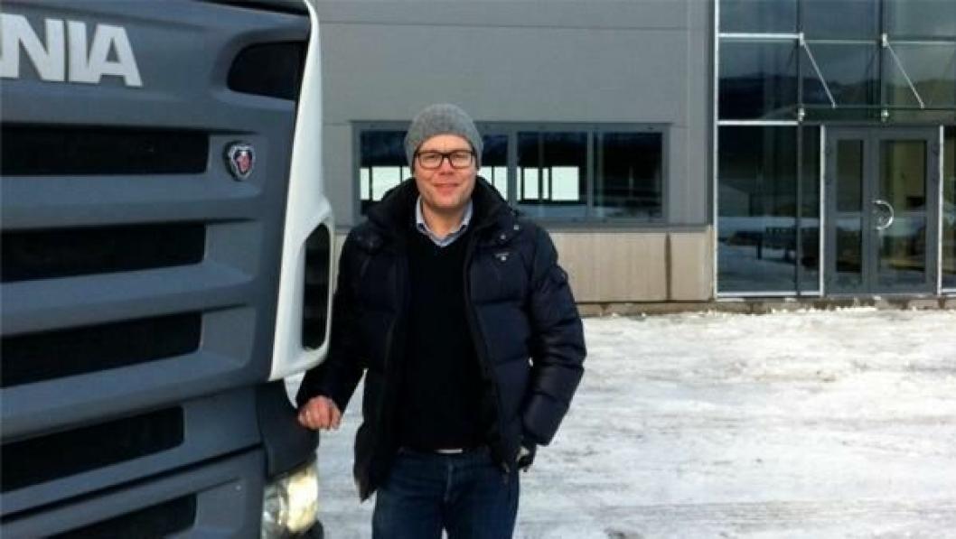 Paul Raade og DørDør tar stadig større grep om transportmarkedet.