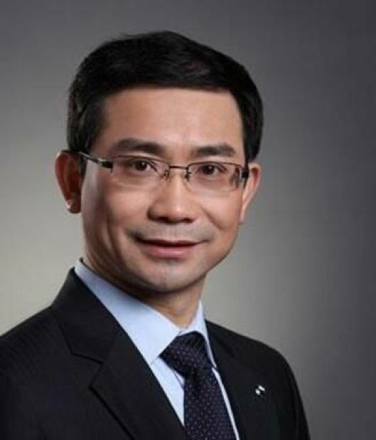 Gary Huang er president i Dongfeng Trucks.