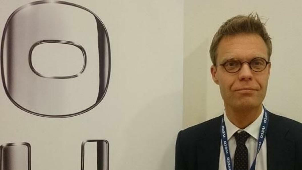 Lars Beck er adm. direktør i Iveco North Europe & Baltikum.